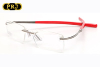 Rimless Vintage No.0304 Eyeglass Reading Glasses Ultra-light Retro Optical Eyewear Brand Spectacle Frame Eyeglasses RI