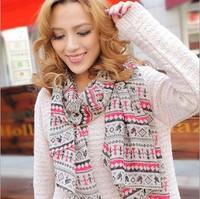 2014 Fashion Chiffon silk scarf female summer all-match scarf long design air conditioning cape