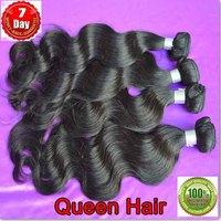6A Cheap Peruvian virgin hair body wave ,queen weave beauty  2 bundles / lot one donor virgin weave free shipping