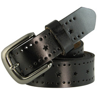 New Arrival! 2014 New Fashion Summer Genuine Real Leather Belts Buckle 2 colors Women Free Shipping N23 Cintos cinturon