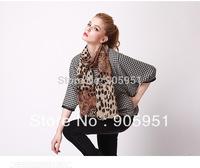 2014 NEW  Hot sale  Desigual  scarf brand women Polka Dot leopard  leopard scarf branded fashion luxury scarves