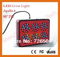 Apollo 6 90*3W grow light 300watt high intensity grow light greenhouse vegetable plants
