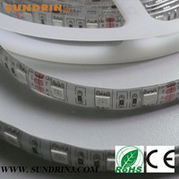 $10 off per $100 DHL FedEx Free ship 60M/lot Waterproof 5050 SMD LED Strip 5m/roll 300Leds 60LED/M Green Blue Red Yellow White