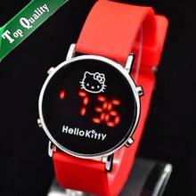 popular hello kitty plastic watch