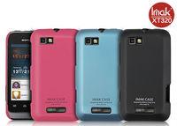 Free shipping! IMak Ultrathin matte color (including screen protector), mobile phone case for Motorola XT320 Defy mini