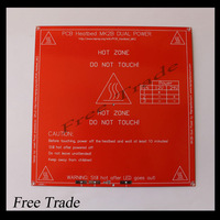 Free shipping !! RepRap mendel PCB Heated MK2B for Mendel 3D printer hot bed