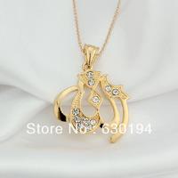 #CP0868 Wholesale retail fashionable&Quality 18KGP Pendant Necklace allah pendant necklace