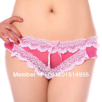 DD&SS Women's Low-waistline Lace Briefs Funny Honey Underwear YMR2164 Free Shipping