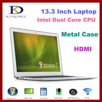 "13.3"" Thin Laptop+Ultrabook Intel i3 laptop Dual Core 1.80Ghz,4GB RAM&128GB SSD,Webcam,WIFI,HDMI, 8400mAh Battery"