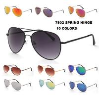Spring hinge coating sunglasses women electronic 2014 new fashion glasses gafas de sol free shipping 7802