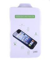 New Tempered Glass Film For iPhone 5 5g Transparency Anti Shatter Explosion-proof Protection Screen With packaging