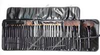 China Post Air Mail Free Shipping 32pcs per set makeup brush set+balck pouch