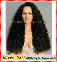 Free shipping!!Wholesale New Fashion Style Malaysia Curly Lace Front Wig 100% Indian Remy Human Hair In Stock High Quality