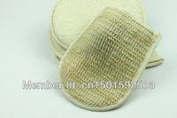 Freeshipping Bath Accessories  Back Scrubber Fair Linen Bath Mitt  Health & Beauty Body Clean & Soft 5pcs/Lot