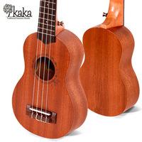 kaka Mini Size 23'' Sapele Concert  Ukelele Aquila 4 String Rosewood Fingerboard Acoustic Musical Instrument Ukulele