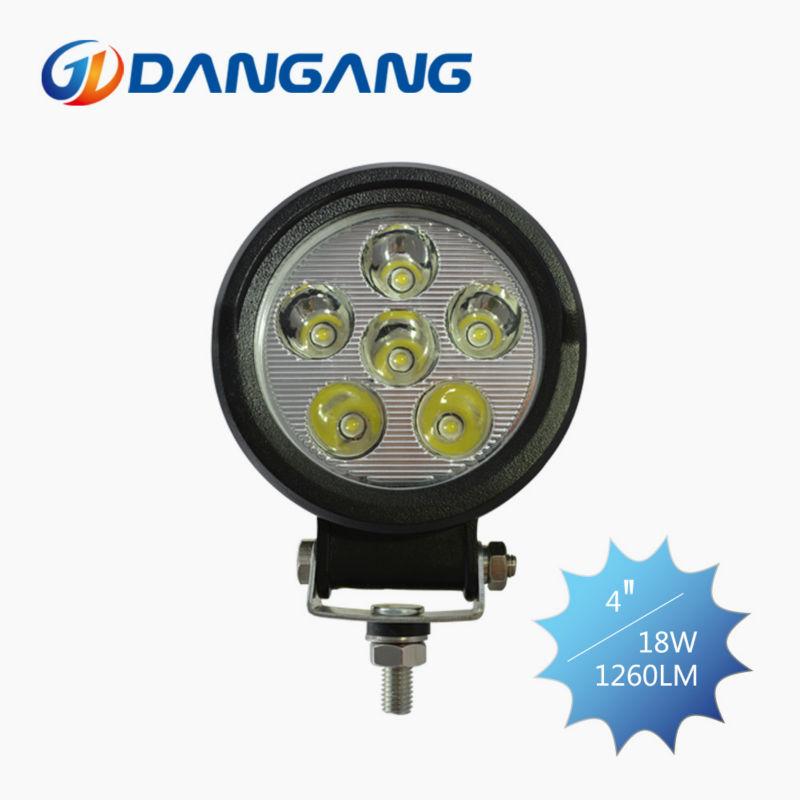 Livraison gratuite conception 18w lumière de travail/lampe de travail/led lumière de travail