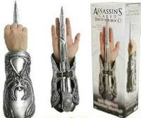 Assassin's Creed Hidden Blade Brotherhood Ezio Auditore Gauntlet Replica Cosplay accessories  Chritmas Gift MVFG017