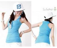 NO.2564) MOQ:1PCS all-match fashion short design long design basic sexy female women's tank Dress