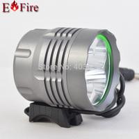 6000 Lumen 5 x CREE XM-L T6 LED Light  Bicycle LED Headlight Waterproof Aluminum alloy Design 6400Mah battery