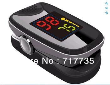 Free Shipping Blood Monitor-LED Digital finger fingertip pulse Oximeter/ Oxymeter