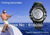 Sunroad FX704 Digital Fishing Barometer 3ATM Waterproof Wrist Watch Thermometer Altimeter Sports Watch