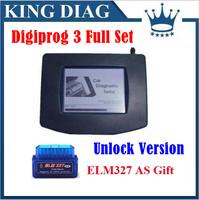 2014 V4.88 Hot-sale Digiprog III Odometer Change Programmer Full Set with all Cables and Softwares Digiprog 3 digi prog