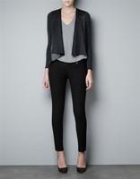 Women Knitted Leather Cardigan Lady Fashion knitwear, KW1009-N02