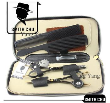 5.5 in. Professional Hairdressing Scissors set , 62HRC, JP440C Straight & Тонкийning ...
