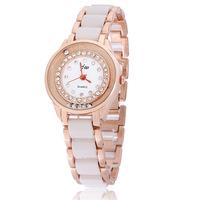 2014 popular women bracelet watches/machael watches ladies rose gold plated brand women dress whatches relogio de pulso reloj