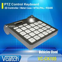 Car Surveillance Camera/Vehicle Use Control Keyboard, Joystick Controller PTZ Keyboard Controller + Free Shipping