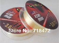 100 Meters USA  top fly fishing lines  transparent  Fluorocarbon Leader Fishing fluorcarbono Line optionnal  0.2  - o.50 mm