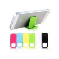 Universal Mobile Phone Stand Holder Mini Desk Station For iPhone/iPod High Quality Plastic Holder Stand Compact Stand 10 Colors