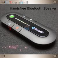 New Wireless Bluetooth Handsfree Speakerphone Car Kit With Car Charger Bluetooth Hands free Kit With 3 Colors Free Shipping