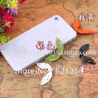 Free Shipping Novelty Item Earphone Jack Plug Lovely Rabbit Phone Accessories Jewelry 12pcs/Lot Lovely Girl Gift Jewelry XZZ120