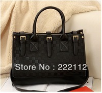 Fashion New 2013 Embossed Designers Brand Women Leather Handbags Vintage Women Messenger Bags 6 Colors