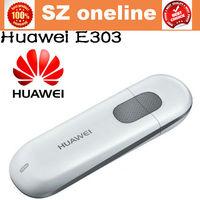 original unlocked  huawei e303  usb modem  WCDMA 7.2Mbps 3G Mobile Broadband Wireless Modem 7.2mbps 10pcs/lot