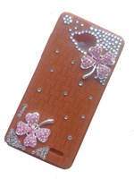 2014 new Original Silicon Case Pink Four leaf flowers for JIAYU G3 G3S MTK6589 Phone   Accessories phone cases