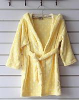 Autumn Winter Bathrobe For Children Long-sleeve Soft Caroset Kids Robes Lovely Dressing Gown Flannel Boys Girls Night-Robe R001