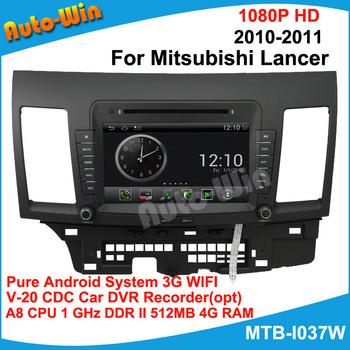 "8"" Car DVD GPS for Mitsubishi Lancer 2010-2011 S150 A8 Dual Core1GB CPU 512MB DDR V-20 3-ZONE Car DVR Wifi 3G modem(opt)"