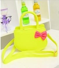 Free shipping , new hot sale bow women totes bags bolsas, cute kitten leather handbags.
