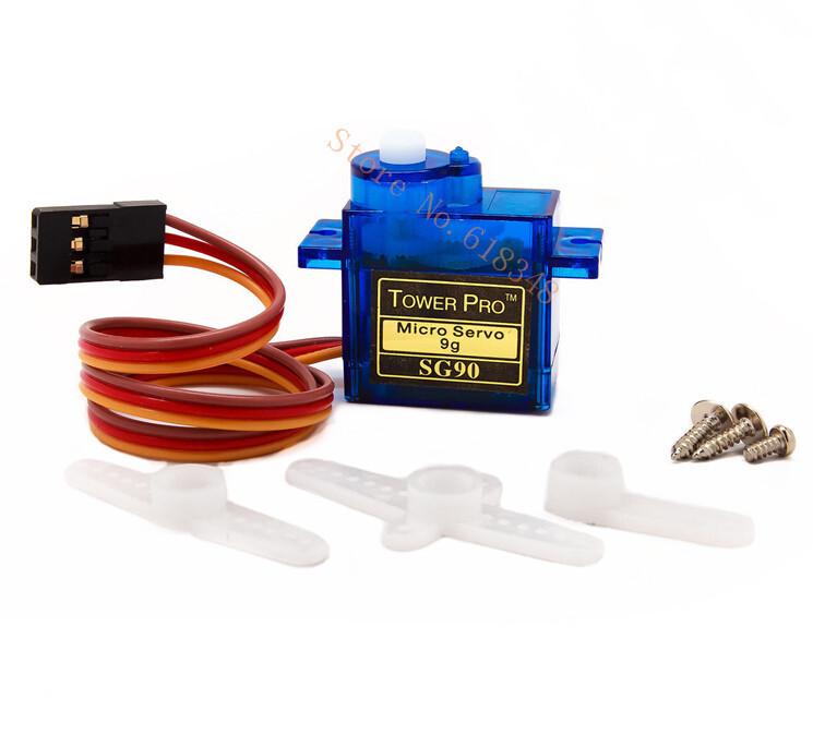 EL SISTEMA DE RADIO CONTROL 5-unids-lote-Towerpro-SG90-Servo-Micro-motor-9-g-para-Trex-450-RC-aviones-de