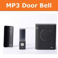 433mhz 200m Wireless DoorBell Cordless MP3 Door bell Chimes Waterproof doorbell button Doorbells