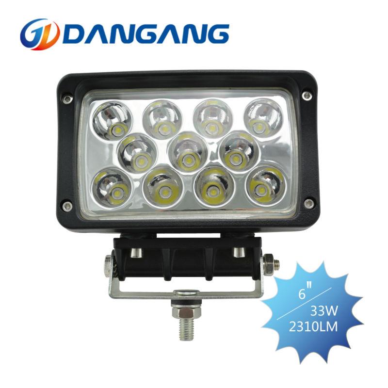 Livraison gratuite 33w lumière de travail/lampe de travail/led lumière de travail