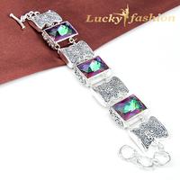 Fashion new 2014 pulseiras femininas new beads gorgeous antique sterling silver mystical handmade bracelets for women
