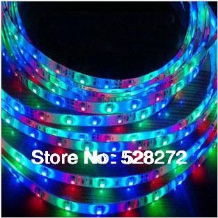 Светодиодная лента SANZUO 5m 300 3528 12V /RGB SZD-3528 светодиодная лампа sanzuo 5 1 6 x b22 220v240v 3w5w7w9w15w smd2835