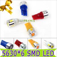 250lm 5630 SMD LED Blue Car Steering Lamp Light Clearance Car Width Lamp Car Wedge Light Bulb LED Reversing Light, Fog