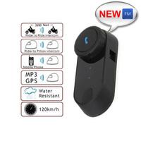 BEST SELLING!! 1PCS 1000M BQB CE Hi-Fi Bluetooth BT Motorcycle Multi Interphone Headset Helmet Intercom Auto-Receiving Calls