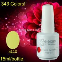 Free Shipping 3Pcs/lot 2013 Hot Sale Gelexus Soak off UV Gel Polish and Salon UV Gel 242Fashion Colors