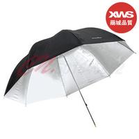 "4pcs 33"" 83 cm Black Silver Photo Light Studio reflector Umbrella for studio flashes"