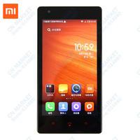 "Free Shipping Original Hongmi GSM/WCDMA 3G IPS 4.7"" MTK6589T 1.5G Quad Core Android Phone 1G RAM 8MP Dual SIM Red Rice"